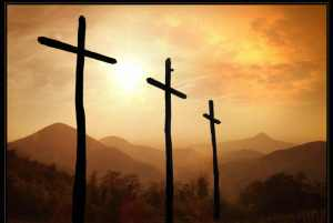 Three Crosses one Christ