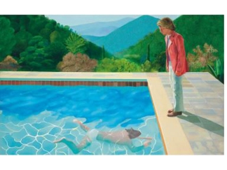 Hockney Painting